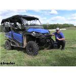 etrailer Hawse Fairlead ATV Winch Installation - 2020 Honda Pioneer 1000-5