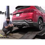 etrailer Trailer Brake Controller 7-Way RV Upgrade Kit Installation - 2020 Hyundai Santa Fe