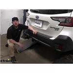 etrailer Trailer Brake Controller 7-Way RV Upgrade Kit Installation - 2020 Subaru Outback Wagon