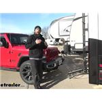 etrailer Invisible Base Plate Kit Installation - 2020 Jeep Gladiator