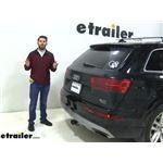 etrailer Hitch Cargo Carrier Review - 2018 Audi Q7