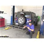 etrailer Hitch Cargo Carrier Review - 2020 Jeep Wrangler