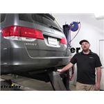 etrailer Class III Trailer Hitch Installation - 2008 Honda Odyssey