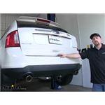 etrailer.com Trailer Hitch Installation - 2011 Ford Edge