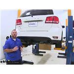 etrailer.com Trailer Hitch Installation - 2012 Dodge Journey