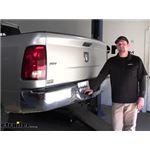etrailer Trailer Hitch Installation - 2012 Dodge Ram Pickup
