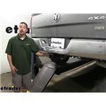 etrailer.com Trailer Hitch Installation - 2013 Ram 1500