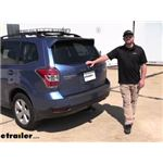 etrailer Class III Trailer Hitch Installation - 2015 Subaru Forester