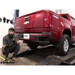etrailer Trailer Hitch Installation - 2016 Chevrolet Colorado