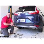 etrailer Class III Trailer Hitch Installation - 2018 Honda CR-V