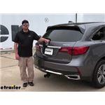 etrailer Trailer Hitch Installation - 2020 Acura MDX