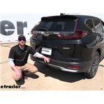 etrailer Class III Trailer Hitch Installation - 2020 Honda CR-V