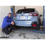 etrailer Class III Trailer Hitch Installation - 2020 Subaru Crosstrek