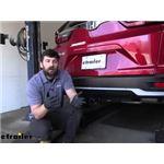 etrailer Class III Trailer Hitch Installation - 2021 Honda CR-V