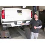 etrailer Trailer Hitch Installation - 2018 Chevrolet Colorado