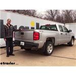 etrailer.com Trailer Hitch Installation - 2017 Chevrolet Silverado 1500