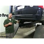 etrailer.com Trailer Hitch Installation - 2014 Chrysler Town and Country