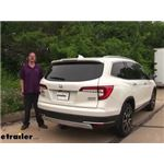 etrailer.com Trailer Hitch Installation - 2018 Honda Pilot