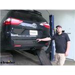 etrailer.com Trailer Hitch Installation - 2018 Toyota Sienna