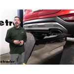 etrailer Trailer Hitch Inststallation - 2019 Hyundai Santa Fe