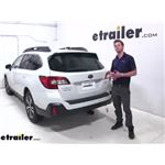 etrailer Hitch Cargo Carrier Review - 2019 Subaru Outback Wagon