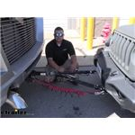 etrailer Invisible Base Plate Kit Installation - 2020 Jeep Wrangler Unlimited