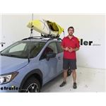 etrailer Watersport Carriers Review - 2019 Subaru Crosstrek