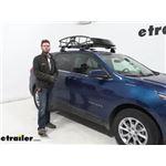 etrailer Medium Roof Cargo Basket Review - 2021 Chevrolet Equinox