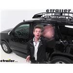 etrailer Roof Cargo Basket Review - 2013 Chevrolet Tahoe