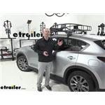 etrailer Medium Roof Cargo Basket Review - 2020 Mazda CX-5