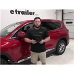 etrailer Bucket Seat Cover Installation - 2020 Hyundai Santa Fe