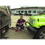 etrailer Blue Ox Base Plate SD Non-Binding Tow Bar Installation - 2017 Jeep Wrangler Unlimited