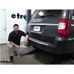 etrailer Trailer Brake Controller 7-Way RV Upgrade Kit Installation - 2011 Chrysler Town and Country