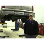 etrailer.com Trailer Hitch Installation - 2000 Chevrolet Silverado