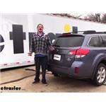 etrailer Trailer Hitch Installation - 2014 Subaru Outback Wagon