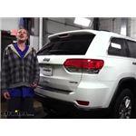 etrailer Trailer Hitch Installation - 2015 Jeep Grand Cherokee