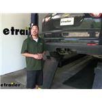 etrailer.com Trailer Hitch Installation - 2017 Chevrolet Traverse