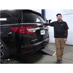etrailer Class III Trailer Hitch Installation - 2018 Honda Odyssey