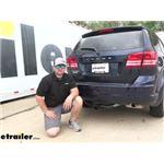 etrailer Class III Trailer Hitch Installation - 2020 Dodge Journey