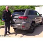 etrailer Trailer Hitch Installation - 2020 Jeep Grand Cherokee