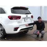 etrailer Trailer Hitch Inststallation - 2020 Kia Sorento
