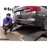 etrailer Class III Trailer Hitch Installation - 2021 Honda Odyssey