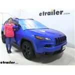etrailer 2-in-1 Exterior Windshield and Wiper Blade Cover Installation - 2018 Jeep Cherokee