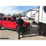 etrailer XHD Non-Binding Tow Bar Installation - 2020 Jeep Gladiator