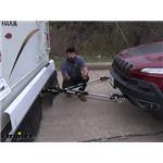 etrailer XHD Non-Binding Tow Bar Installation - 2017 Jeep Cherokee