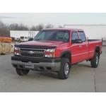 Fifth Wheel Base Rail Kit Installation - 2005 Chevrolet 3500