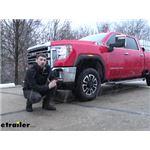 Firestone Ride-Rite Rear Axle Air Helper Springs Installation - 2020 GMC Sierra 2500