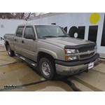 Trailer Hitch Installation - 2003 Chevrolet Silverado - Curt