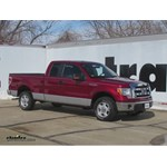 Front Mount Trailer Hitch Installation - 2014 Ford F-150 - Curt
