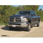 Front Mount Trailer Hitch Installation - 2010 Dodge Ram